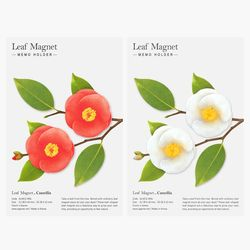 리프마그넷동백꽃