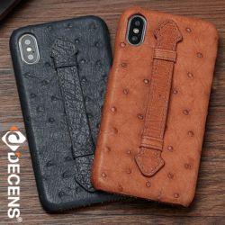 데켄스 M523 아이폰 오스트리치 가죽 스트랩 핸드폰