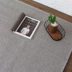 헤링본 평직 러그 - L 170x230cm