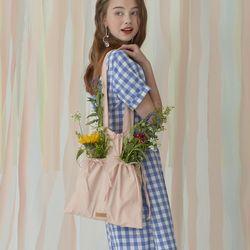 DUSK string bag - Cosy Pink