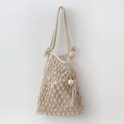 Rattan Knitting Bag