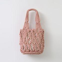Knitting Bucket Bag