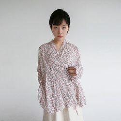 japanese mood lap blouse (2colors)