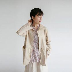 girlish mood shirring jacket (3colors)
