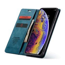아이폰8플러스 스탠딩 마그네틱 가죽케이스 P086