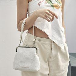 Amelie frame bag (raffia white)