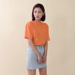 [로코식스] 오프숄더 슬라브 티셔츠