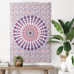 피콕 E - 태피스트리 패브릭포스터 포스터 76x117cm