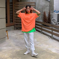 2485 피그먼트 포켓 반팔 티셔츠 (6color)