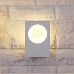 루미 직사각 벽등 LED 5W 화이트 인테리어등