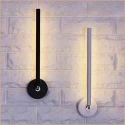 스틱 회전 벽등 LED 5W 블랙 인테리어등