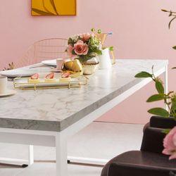 스틸마블 6인용 식탁테이블 1600x600