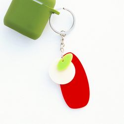애플 키링 Apple Key Ring