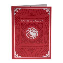 왕좌의 게임 드래곤 팝업 3D 팝업 카드