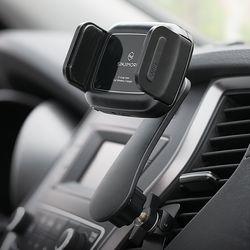 신지모루 오그랩미니 차량용 무선충전 핸드폰 자동거치대