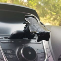 ik-3015 차량용 스마트폰 거치대 CD 시디슬롯 타입 국산