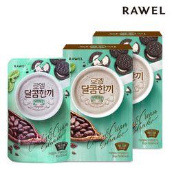 로엘 한끼 다이어트 쉐이크 쿠키앤크림맛 30g x 14포 (2박스)