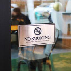 메탈사인 금연표지판 흡연금지표시 노스모킹 경고문구표찰
