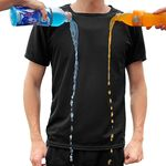 [1+1(선택가능)/무료배송] 완벽방수 엔비 시원한 남여공용 쿨 방수 반팔 티셔츠