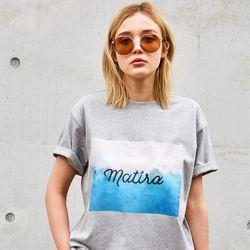MATIRA PRINT T-SHIRTS GREY