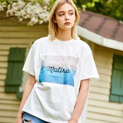 MATIRA PRINT T-SHIRTS WHITE