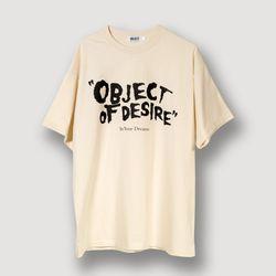 오브젝트 OBJECT OF DESIRE T-SHIRT BEIGE