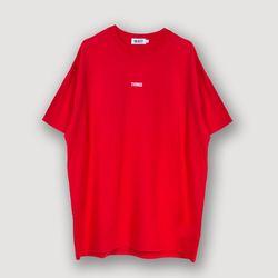 오브젝트 THING T-SHIRT RED