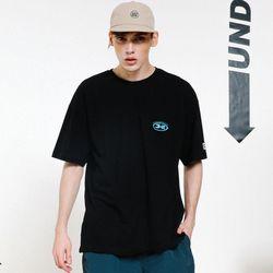 슬래쉬 로고 티 06 (블랙)