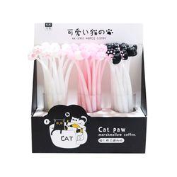 고양이발바닥중성펜BOX