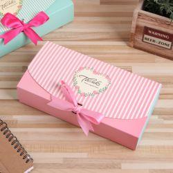 스트라이프 핑크리본 선물상자