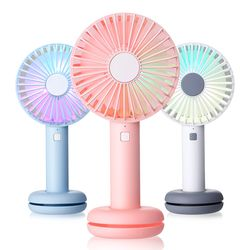 LED 도넛 미니 휴대용 선풍기 PANDA-F7
