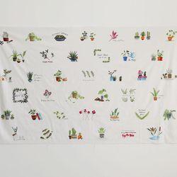 [Fabric] 가드닝 파우치 39컷 린넨 Gardening Pouch Linen
