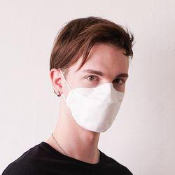 게이즈 마스크 KF94 화이트 (1매) 1회용 방역용 마스크