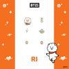 [BT21] 실버 패키지귀걸이 : RJ