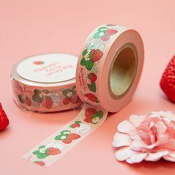 몰랑 봄딸기 마스킹테이프