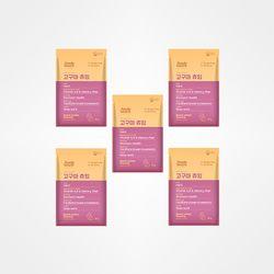 [무료배송+사은품증정] 저알러지 기능성 애견간식 고구마츄잉50g x5봉(250g)