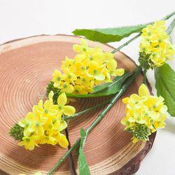 스프링유채꽃가지 100cm 조화 FAIAFT