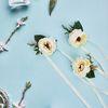 브라이덜샤워 파티용품 캐롤린 꽃팔찌