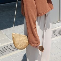 Bangkok straw bag