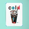 유니크 디자인 포스터 아이스 아메리카노 커피 카페 A3(중형)