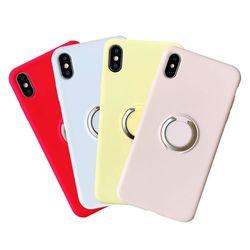 아이폰8플러스 링 마그네틱 스탠딩 실리콘케이스 P052