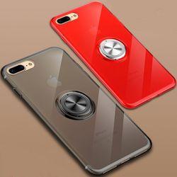아이폰6S플러스 마그네틱 링 클리어 젤리 케이스 P055