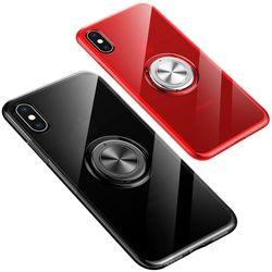 아이폰6플러스 마그네틱 링 클리어 젤리 케이스 P055