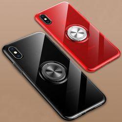 아이폰6S 마그네틱 링 클리어 젤리 케이스 P055