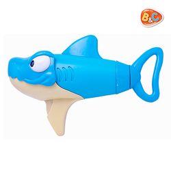 슈퍼 샤크 워터건 상어 물총 귀여운 상어가 캐릭터 물총 놀이