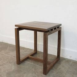 Frame stool(walnut)