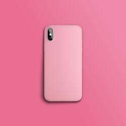 컬러 컬렉션 라이트 핑크 슬라이드 아이폰케이스