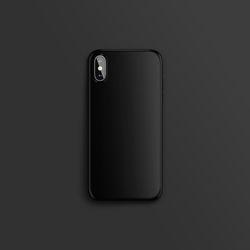 컬러 컬렉션 블랙 하드 아이폰케이스