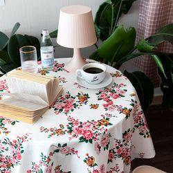스프링페어리 식탁보 테이블보 110x110cm 테이블러너