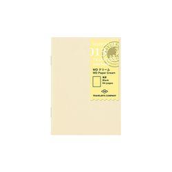 트래블러스노트 패스포트 리필 - MD Paper Cream